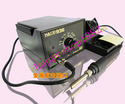 220V HAKKO 936-AQ28 ESD SAFE Electronic Iron soldering station D-27