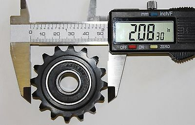 16 Tooth Idler Sprocket #35 Chain 1/2'' ID For Go Kart Mini Bike. Fast Shipping!