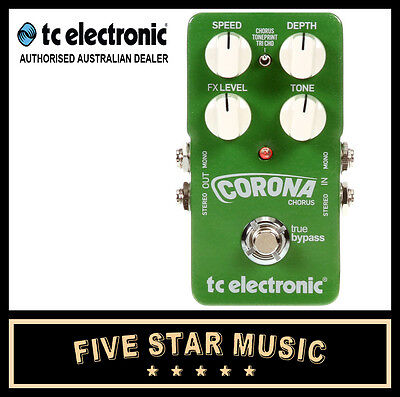 Tc Electronic Tp Corona Chorus Guitar Effects Toneprint Pedal New