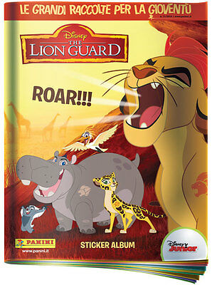 evado mancoliste figurine THE LION GUARD  € 0,25 Panini 2016 NUOVE vedi lista