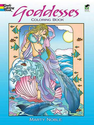 Adult Coloring Book For Grownups Goddesses Dover Coloring Books Relax Fun NEW