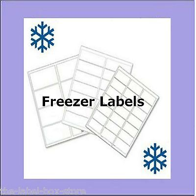 A4 White Matt Self Adhesive Printable Freezer Labels Food Storage Labels