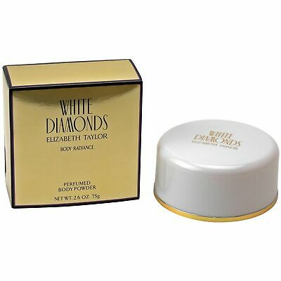 Elizabeth Taylor White Diamonds 75 g Perfumed Body Powder Puder