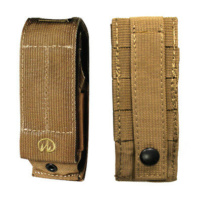 Leatherman Large Ballistic Nylon Molle Multi-Tool Pouch/Sheath in Desert Brown