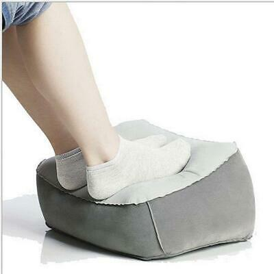 Inflatable Travel Foot Rest Pillow Helps Reduce DVT Risk on Flights