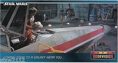 Star Wars 1994 Topps A New Hope Widevision #00 Binder Exclusive Promo