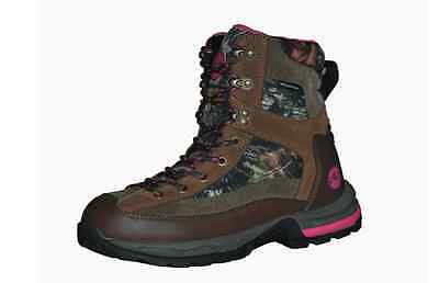 GWG Hunting Boots Girls with Guns Tigress Camo Waterproof Boots 600 Gram Size 6