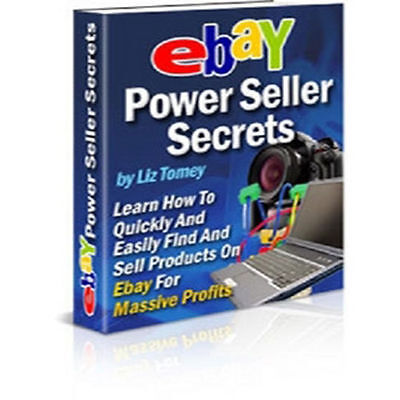 Ebay Power Seller Secrets Ebook PDF + Full Resell Rights + Free Shipping
