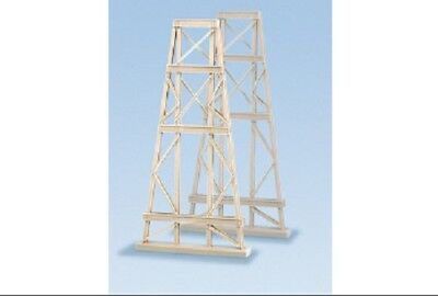 Ratio N Gauge 2x Steel Trestles  Plastic Kit 242