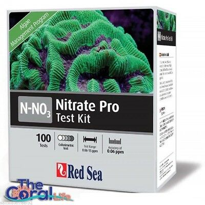 Red Sea Nitrate Pro High Definition Comparator Test Kit - 100 Tests