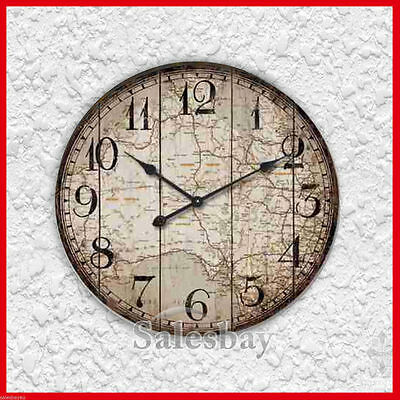 Large Round Industrial 60cm Australia Wall Clock