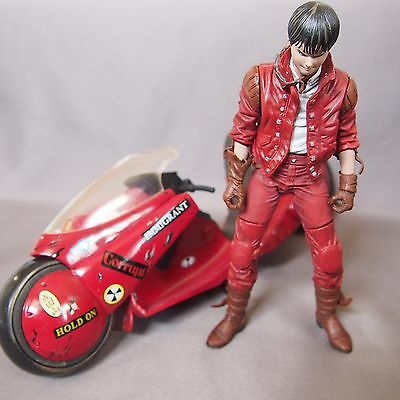 Rare Akira Kaneda with Motorcycle Mcfarlane Figure good condition from Japan F/S