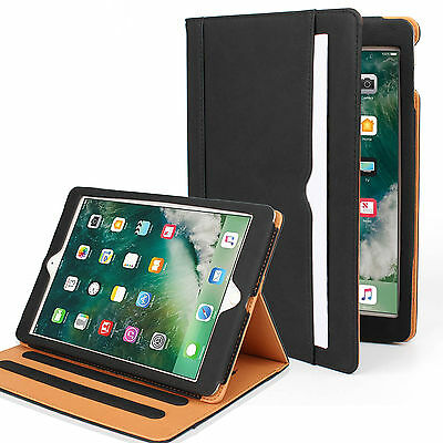 Luxury Leather Wallet Folio Stand Case Cover For iPad 2/3/4/Air1 2/Mini/iPad Pro