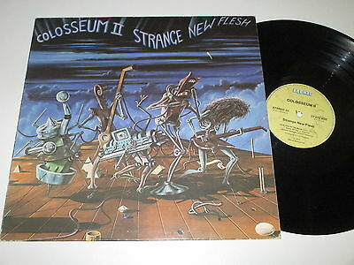 LP/COLOSSEUM II/STRANGE NEW FLESH/Bronze 27213 XOT  made in Austria