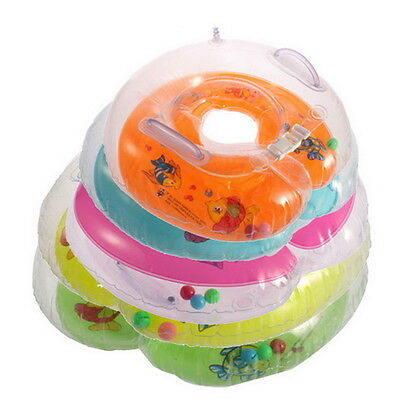 New Baby Aids Infant Swimming Neck Float Inflatable Tube Ring Safety MC