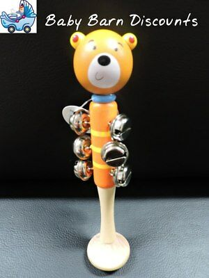 NEW Eleganter - Animal Bell Stick - Brown Bear from Baby Barn Discounts