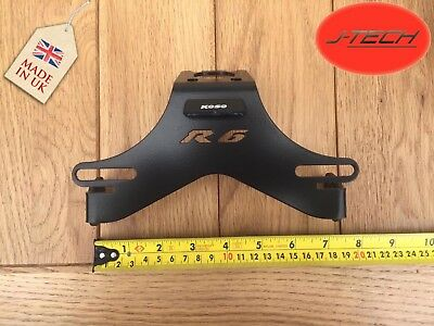 **Yamaha R6  TAIL TIDY 2006 -2019 Number Plate Holder. With Triple Micro LEDs **