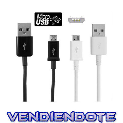 Cable Micro USB a USB Datos Carga Tablets Android Samsung S6 Edge S2 S3 S4 S5 S7