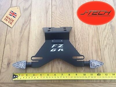*Yamaha 2009-2016 FZ-6R / XJ6 Number Plate Holder Tail Tidy. FZ6 R. Micro LEDS*