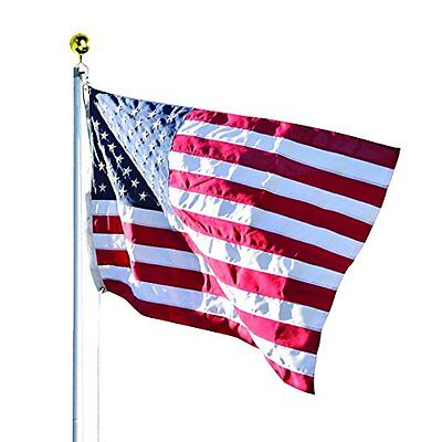 Valley Forge Flag 20 FT Duratex Commercial Grade US American Flagpole Kit
