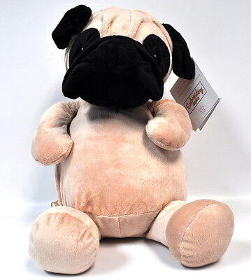 EB Embroider Parker Pug 16 Inch Embroidery Stuffed Animal