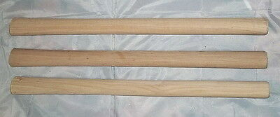 """Set of (3) 19"""" Tomahawk Handles - Competition - Mountain Man Rendezvous - """"NEW"""""""