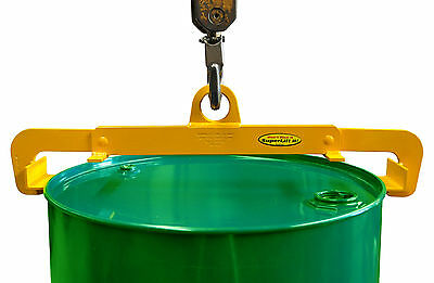Drum Lifting Clamp - Vertical - THE ONLY VERTICAL DRUM CLAMP MADE IN AUSTRALIA!