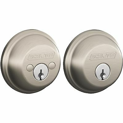 Double-Cylinder Deadbolt