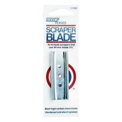 Hyde High-Carbon Steel 2-Edge Replacement Scraper Blade