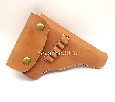 Wwii Ww2 Chinese Army Military Tactical Browning 1910 Leather Holster