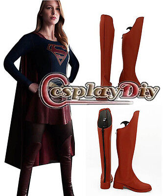 The Flash Supergirl Cosplay Boots Adult Cosplay Shoes