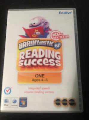 BRAINtastic V2 - Reading Sucess #ONE - Educational PC game