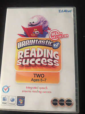 BRAINtastic V2 - Reading Sucess #TWO - Educational PC game