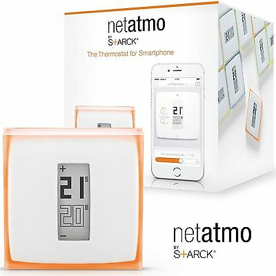 Netatmo Home Heating Thermostat For Smartphone Mobile Control Energy Saving NEW