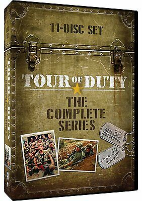TOUR OF DUTY: THE COMPLETE SERIES (11 disc set)  - DVD - Sealed Region 1