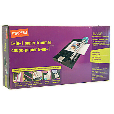Staple 5 in 1 Paper Trimmer 15141