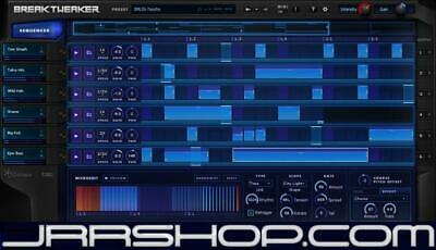 Izotope BreakTweaker Glitch Drum Machine Plugin eDelivery JRR Shop