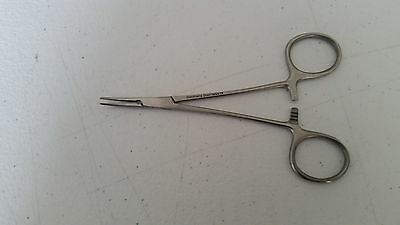 "Halstead Mosquito Forceps 5"" Curved German Stainless CE Dental Surgical"