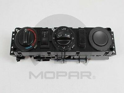 A/C and Heater Control Switch MOPAR 05103690AA
