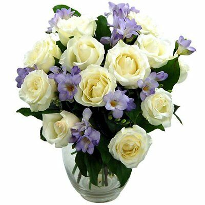 Clare Florist Breathtaking Amethyst Bouquet with FREE Delivery - Fresh Rose and