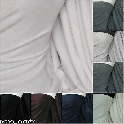 "Polar Fleece - Anti Pill Fabric Premium Quality Soft Plain various colors 59"","