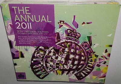 Va Ministry Of Sound The Annual 2011 German Edition Brand New Sealed 3Cd Set