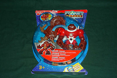 2007 Fisher Price Planet Heroes Mars Digger New in Package