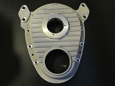 New Enderle Timing Cover supercharger Blower SBC Chevy dragster drag boat