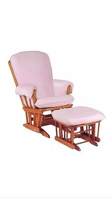 Luxe Basics Cover Me Glider Chair Cover, Pink, New