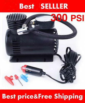 Air Compressor 12V Tire Inflator Toys Sports Car Auto Electric Pump Mini TOP CA