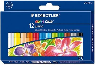 Staedtler Noris Club 12 Jumbo Oil Pastels