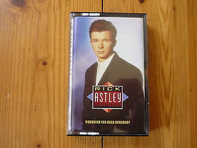 Rick Astley - Whenever You Need Somebody  / RCA RECORDS MC