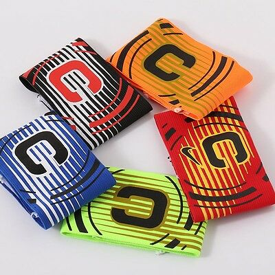 Professional Football Captain Armband Soccer Arm Band Leader Multi Color