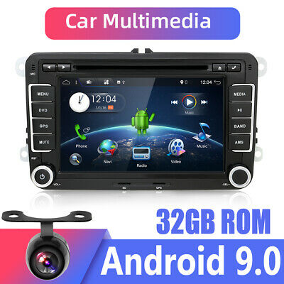 Android 7.1 Car DVD Player GPS Sat Nav Stereo For VW Passat Golf Transporter T5